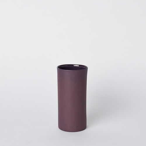 Small Vase in Plum