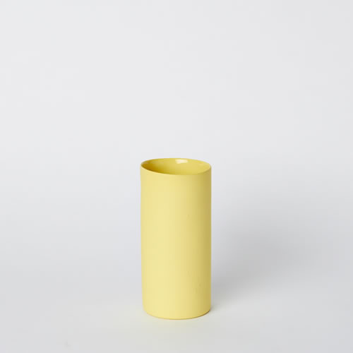 Small Vase in Yellow