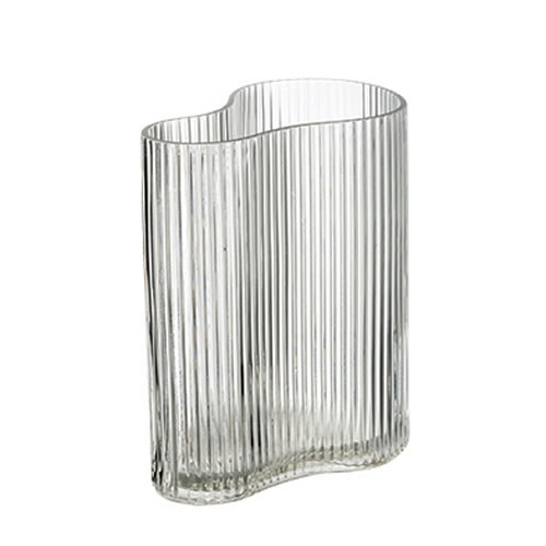 Botanical Glass Vase Wide 12x19xH22cm