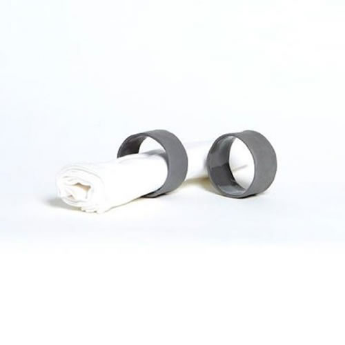 Flax Napkin Ring in Charcoal