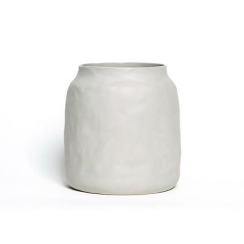 Flax Ceramic Kitchen Pot Grey
