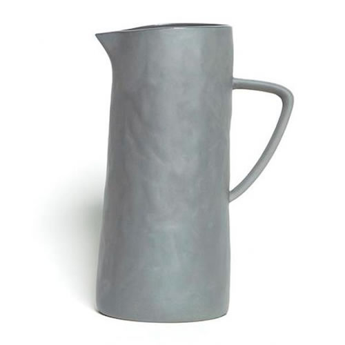 Flax Jug with Handle in Charcoal