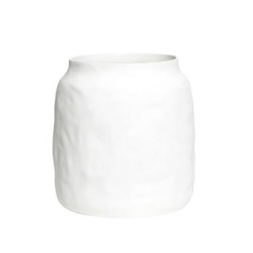 Flax Ceramic Kitchen Pot Snow White