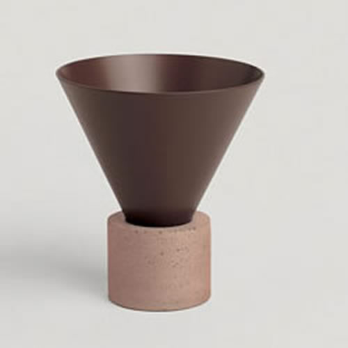Void Incense Burner in Chocolate