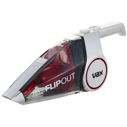 Vax FlipOut Handheld Vacuum Cleaner Red