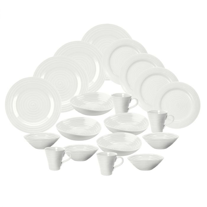 White 20 piece Dinnerset