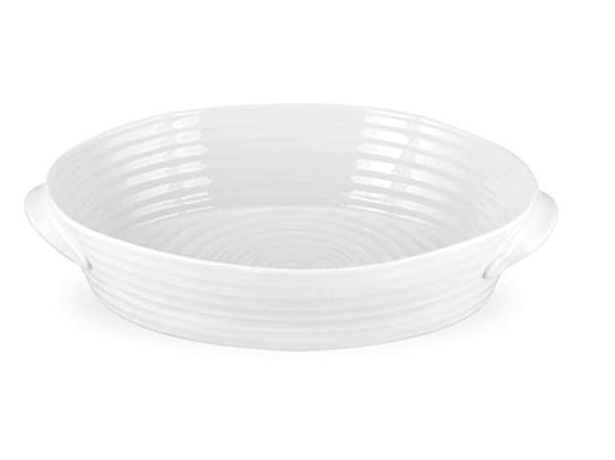 White Oval Roaster 13.5cm x 9cm