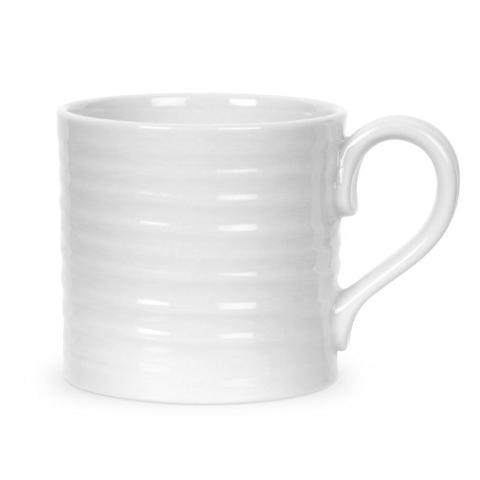 White Short Mugs