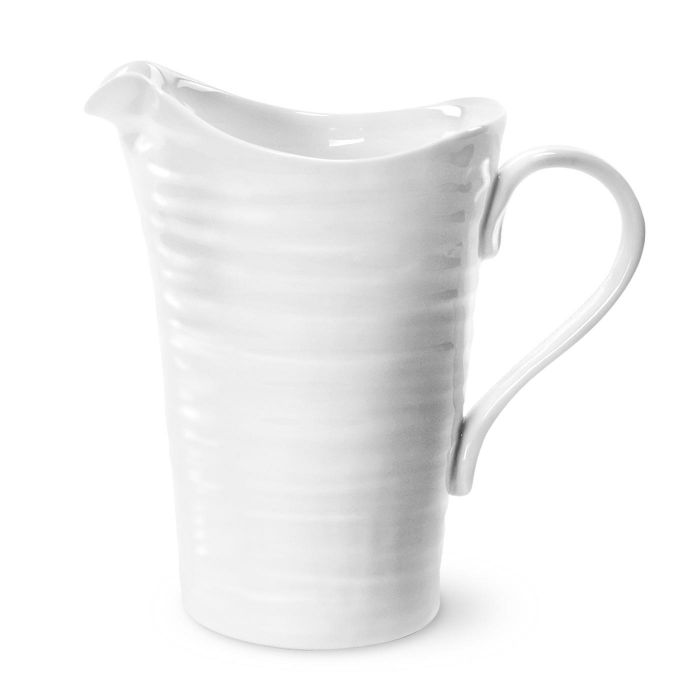 White Small Pitcher