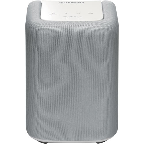 Yamaha MusicCast Wireless Mini Speaker with Wi-Fi and Bluetooth White