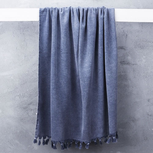 Wash Towel in Denim