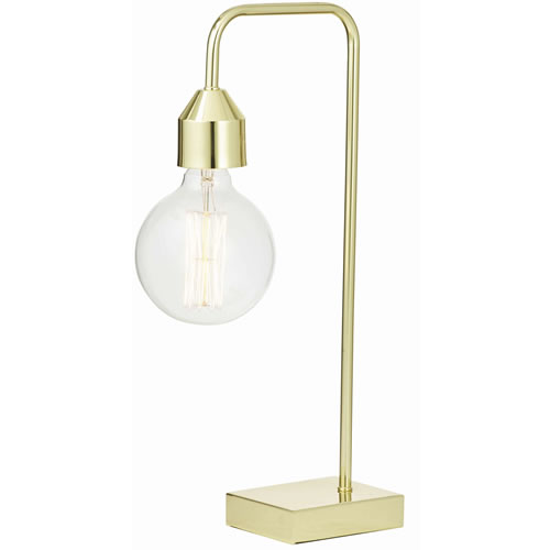 Ava Table Lamp in Gold