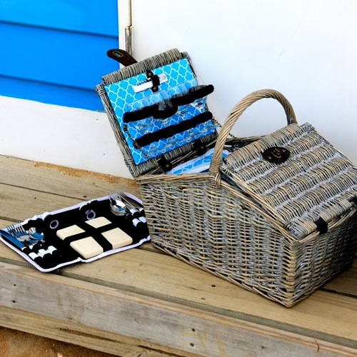4 Person Fez Picnic Basket