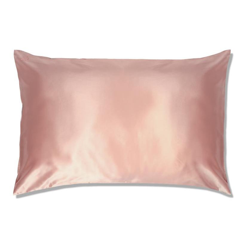Pink Silk Pillowcase