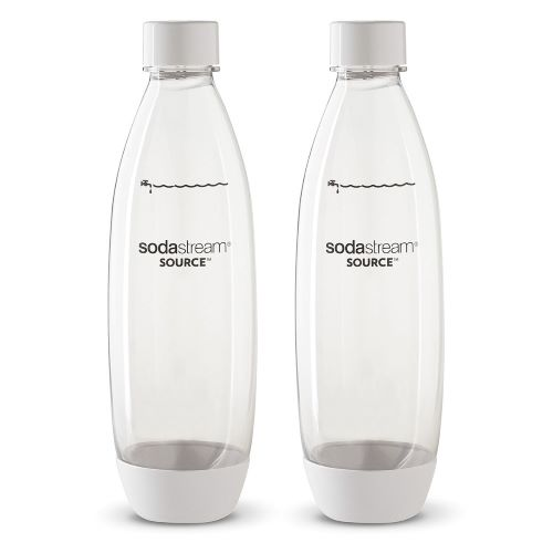 Set of 2 1Ltr Soda Stream Bottles