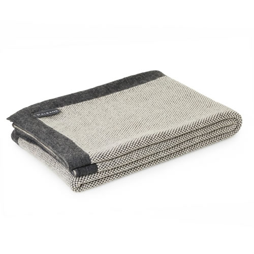 Alpaca Merino Wool Haze Throw Rug