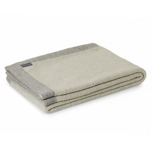 Alpaca Merino Wool Misty Throw Rug