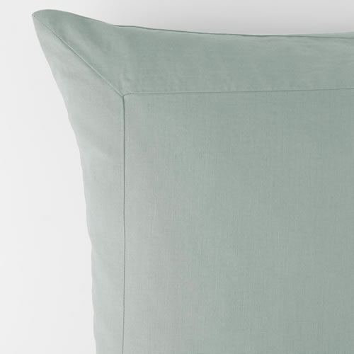 Azure Pure Linen European Pillowcase