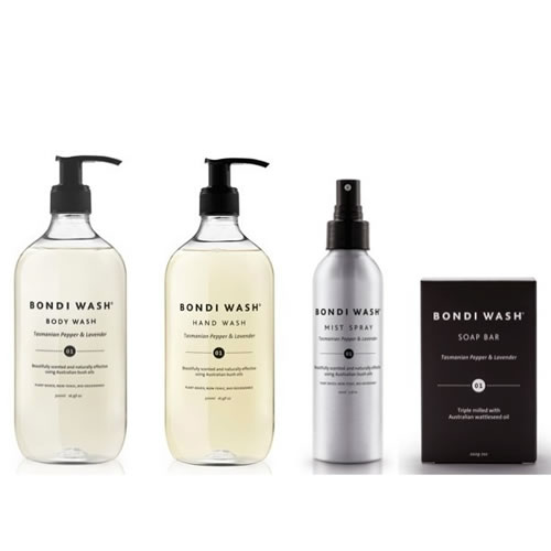 Bondi Wash Bathroom Set Lemon Tea Tree & Mandarin