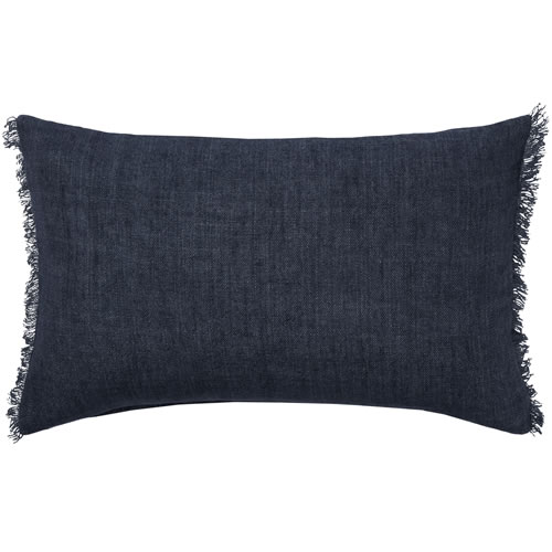 Burton Rectangle Indigo Cushion