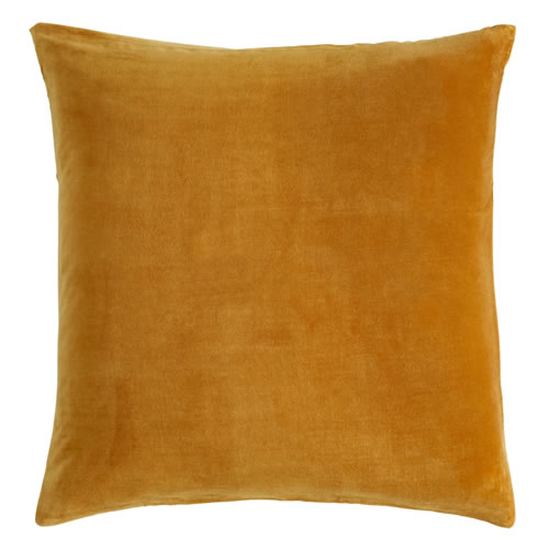 Butterscotch Velvet European Pillowcase