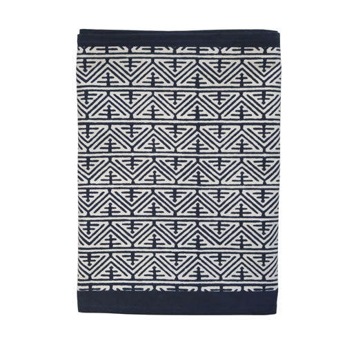 Cairo Indigo Table Runner
