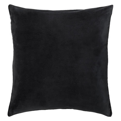 Charcoal Velvet European Pillowcase