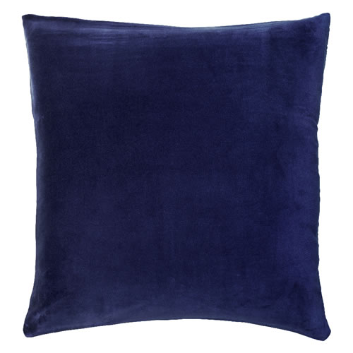 Dusty Blue Velvet European Pillowcase