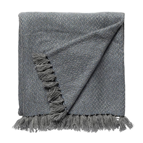 Copenhagen Cashmere Throw in  Lake