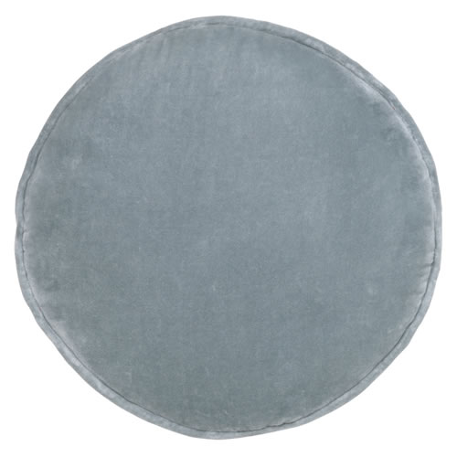 Dusty Blue Penny Round Cover