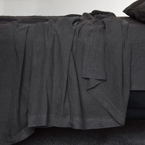 Bemboka King Duvet Cover in Coal