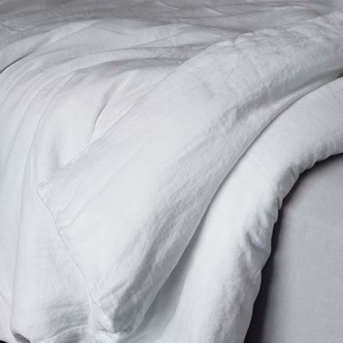 Bemboka King Duvet Cover in White