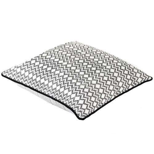 Haman Charcoal Euro Quilted Pillowcase