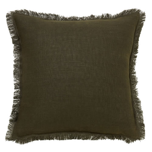 Linley Olive Cushion
