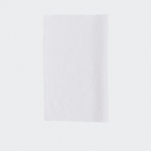 Bay Linen Single Napkin - Crisp White