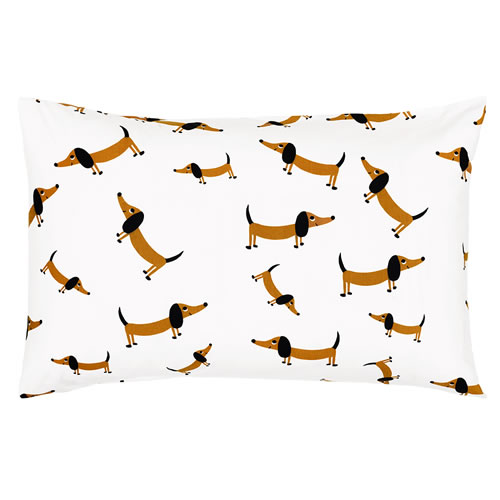 Sausage Dog Pillowcase