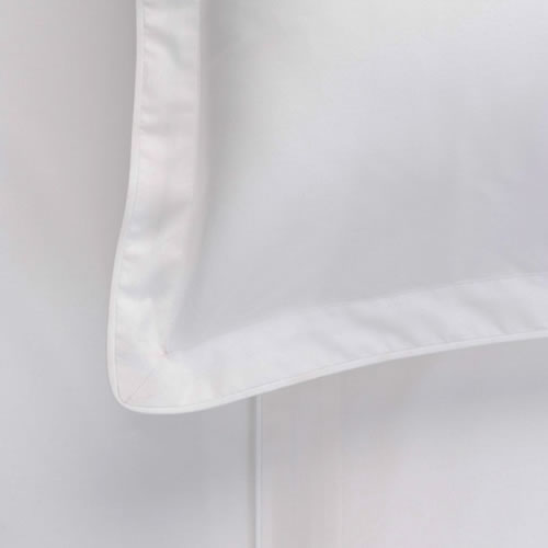 Studio White Euro Pillow Case