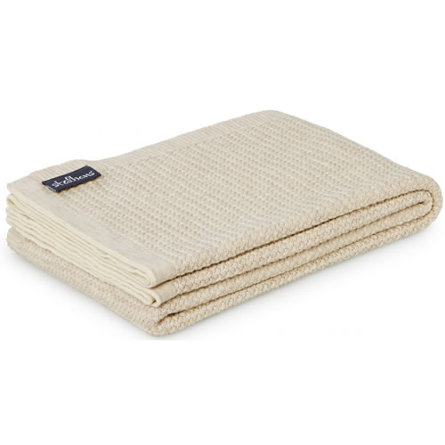 Wool Knit Sand Throw Rug